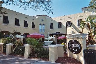 National Register of Historic Places listings in Hillsborough County, Florida - Image: Bay isle comm bldg davis island
