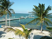 Beach at a bay in Caye Caulker.jpeg