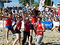 Beachvolleyball-Team Verbotene Liebe.JPG