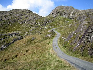 County Cork - The Beara pass, through the Slieve Miskish mountains