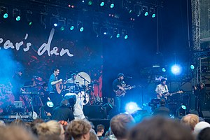Bear's Den (band) - Bear's Den at Haldern Pop Festival (2017)