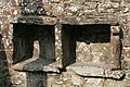 Bee boles in a wall at West Linton - geograph.org.uk - 990643.jpg