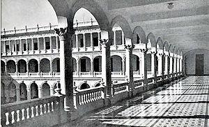 Instituto Técnico Militar - Image: Belen School hallways 1950's Havana