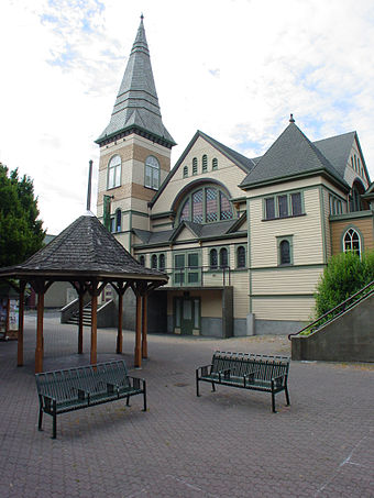 The Belfry Theatre is a theatre company founded in 1974, and located in the neighbourhood of Fernwood. Belfrytheatre.jpg