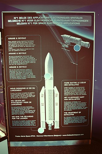 Ariane 5 - Belgian components produced for the Ariane 5 European heavy-lift launch vehicle explained