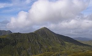 Ben Vorlich, Loch Earn - Ben Vorlich seen from Meall na Feàrna to the southeast