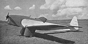 Beneš-Mráz Be-150 Beta-Junior s motorem Walter Junior 4 (1937)