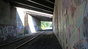 Westfield, Massachusetts - Image: Beneath the Mass Pike