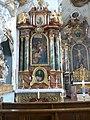 Benningen Pfarrkirche Seitenaltar links Marienaltar.jpg