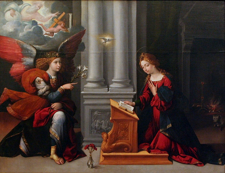 File:Benvenuto Tisi - The Annunciation.JPG
