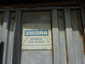 Berbera - A Ziegra mobile ice plant in Berbera