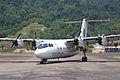 Berjaya Air DHC-7-110 Dash 7; 9M-TAK@TOD;12.08.2011 618al (6298574944).jpg