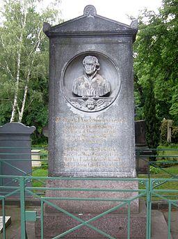 Berlin, Kreuzberg, Bergmannstrasse, Dreifaltigkeitsfriedhof II, Grób Friedrich Schleiermacher