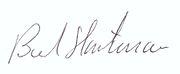 Bernhard Hartmann-Autogramm