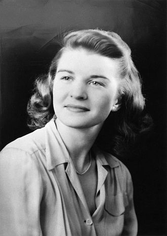 Betty Ford - Betty Bloomer at age 18, 1936