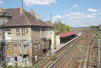 Birkenwerder station - Image: Bf Birkenwerder Overview