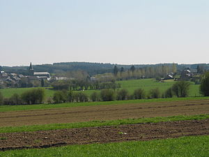 Bièvre, Belgium - View on Bièvre