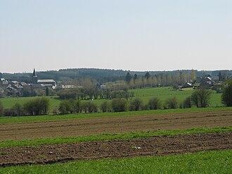 Bièvre, Belgium - View on Bièvre