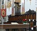 Biberach Pfarrkirche Chorgestühl Chororgel.jpg