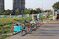 Bicycle rack in Moscow 02.jpg