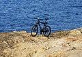 Bicyle on the rock - panoramio.jpg