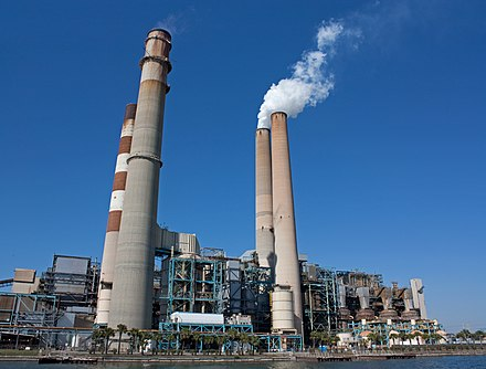 Big Bend Power Station supplies most of the city's energy. Big Bend Power Station.jpg