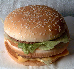 Big Mac venduto in Giappone.