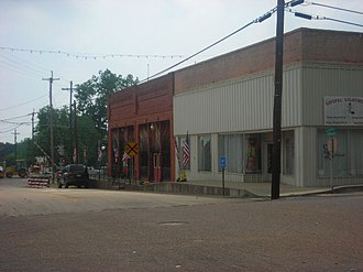 Big Sandy, Texas - A glimpse of downtown Big Sandy