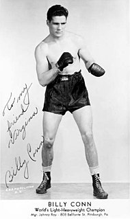 Billy Conn American boxer