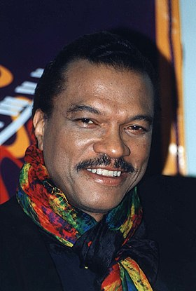Le principal interprète du personnage, Billy Dee Williams.