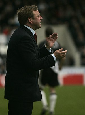 Billy Reid (footballer, born 1963) - Reid as manager of Hamilton Academical in 2009