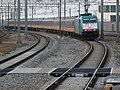Binnenkomende trein naar Brussel 2018.jpg