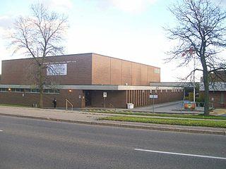 Birchmount Park Collegiate Institute High school in Birch Cliff, Toronto, Ontario, Canada