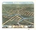 Bird's eye view of Jefferson, Jefferson County, Wisconsin 1870. LOC 73694544.tif