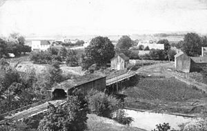 Rickreall, Oregon - An early view of Rickreall