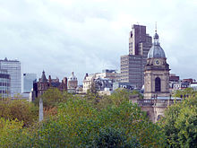 Birmingham - St Philip's Square skyline in Autumn.jpg