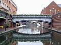 Birmingham Canal approaching Old Turn Junction, Birmingham - geograph.org.uk - 1737565.jpg