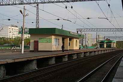 How to get to Бирюлёво Пасс. with public transit - About the place
