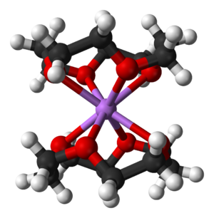 12-Crown-4 - Ball-and-stick model of the bis(12-crown-4)lithium cation