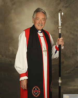 Trevor Williams (bishop) - Bishop Trevor Williams photographed in Baker Photography in July 2014