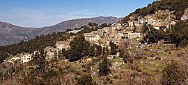 Panoramo de Bisinchi-vilaĝo