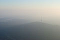 Black Mountain Tower through a cloud 1.JPG