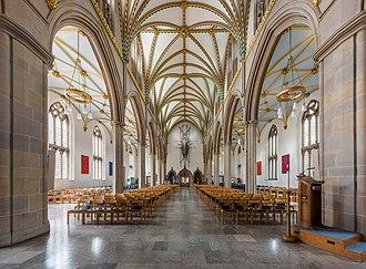 Blackburn Cathedral - Image: Blackburn Cathedral Nave 2, Blackburn, Lancashire, UK Diliff