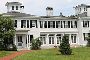 Paul LePage - Like previous governors, LePage resides in the Blaine House across from the State Capitol.
