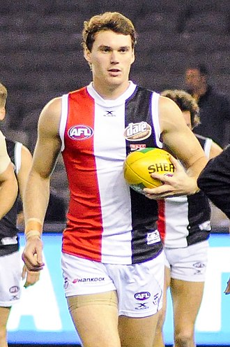 Blake Acres - Acres playing for St Kilda in June 2017