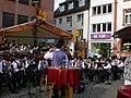 Blaskapelle im Bingen (Bingen Band at the Winefest) - geo.hlipp.de - 21487.jpg
