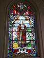 Blessy (Pas-de-Calais, Fr) église Saint Omer, vitrail de Saint Omer.JPG