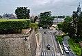 Blois Château de Blois Francois-I-Flügel Blick aus dem Schloss 1.jpg