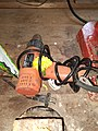 Blower used for manufacturing Jayapur foot.jpg