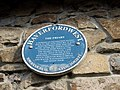 Blue plaque in Friars Lane - geograph.org.uk - 1060793.jpg